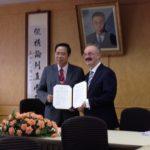 2013瑞士HTM與文化大學簽署姊妹校