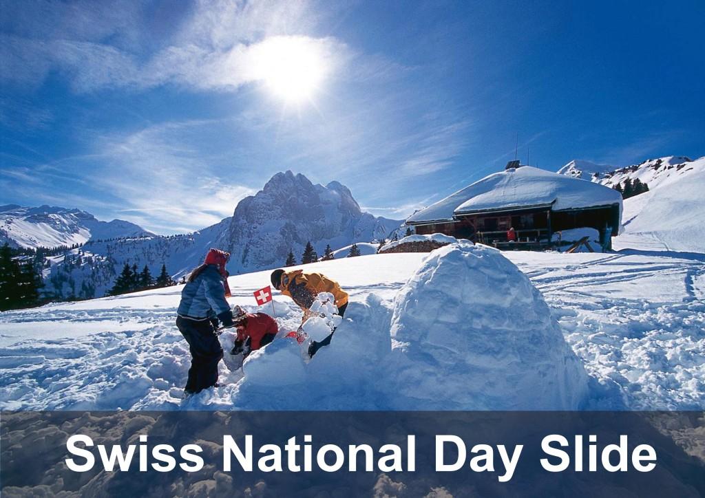 Swiss national day slide
