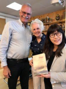 2018 07 06 LAS Steven & Doris 瑞士萊辛住宿中學董事會主席