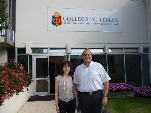 2013林肯拜訪瑞士CDL雷曼中學