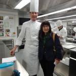 2015 瑞士廚藝學院盧森校區與知名Chef Patrick